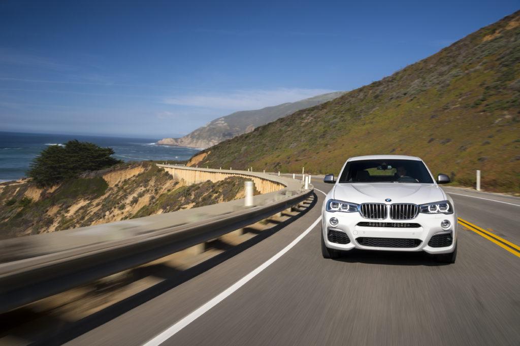 BMW-X4 вид спереди