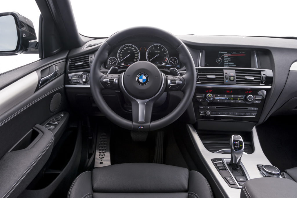 салон BMW-X4 2016