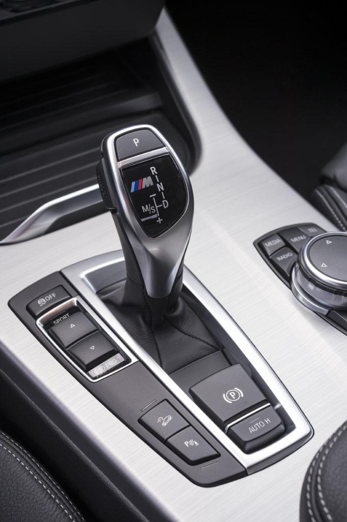 BMW Х4 рычаг переключения передач