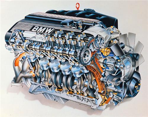 таблица двигателей бмв е39
