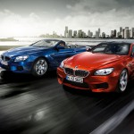premier BMW M6 coupe and cabriolet 2013