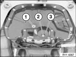 масляного фильтра на BMW x5 e53