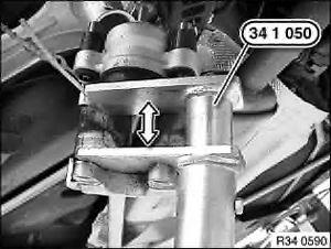 замена задних тормозных колодок BMW e38
